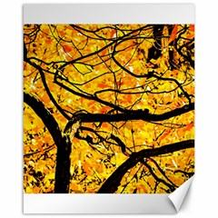 Golden Vein Canvas 16  X 20   by FunnyCow