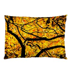 Golden Vein Pillow Case