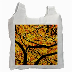 Golden Vein Recycle Bag (one Side)