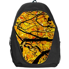 Golden Vein Backpack Bag