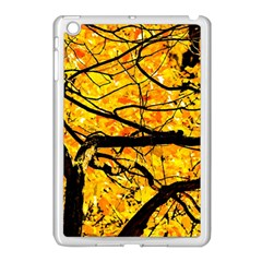 Golden Vein Apple Ipad Mini Case (white)