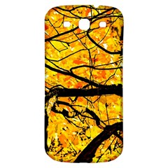 Golden Vein Samsung Galaxy S3 S Iii Classic Hardshell Back Case by FunnyCow