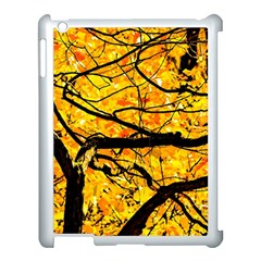 Golden Vein Apple Ipad 3/4 Case (white) by FunnyCow