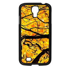 Golden Vein Samsung Galaxy S4 I9500/ I9505 Case (black) by FunnyCow