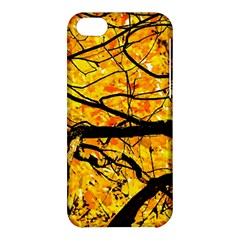 Golden Vein Apple Iphone 5c Hardshell Case by FunnyCow