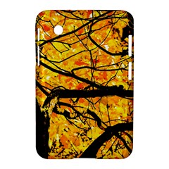 Golden Vein Samsung Galaxy Tab 2 (7 ) P3100 Hardshell Case  by FunnyCow