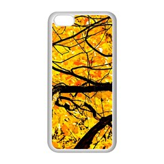 Golden Vein Apple Iphone 5c Seamless Case (white) by FunnyCow