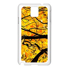 Golden Vein Samsung Galaxy Note 3 N9005 Case (white) by FunnyCow
