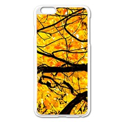 Golden Vein Apple Iphone 6 Plus/6s Plus Enamel White Case by FunnyCow