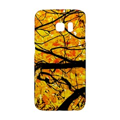 Golden Vein Samsung Galaxy S6 Edge Hardshell Case by FunnyCow