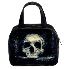 Skull Classic Handbags (2 Sides) by FunnyCow