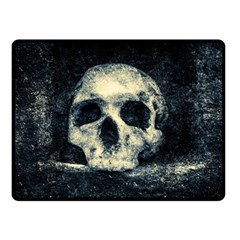 Skull Double Sided Fleece Blanket (small)  by FunnyCow