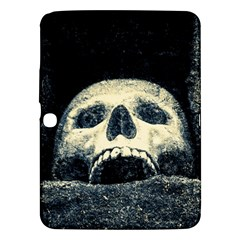 Smiling Skull Samsung Galaxy Tab 3 (10 1 ) P5200 Hardshell Case  by FunnyCow