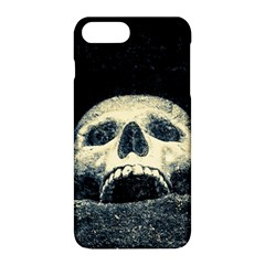 Smiling Skull Apple Iphone 8 Plus Hardshell Case by FunnyCow