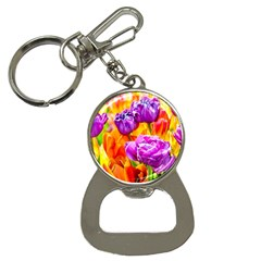 Tulip Flowers Bottle Opener Key Chains by FunnyCow