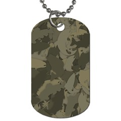 Country Boy Fishing Camouflage Pattern Dog Tag (one Side) by allthingseveryday