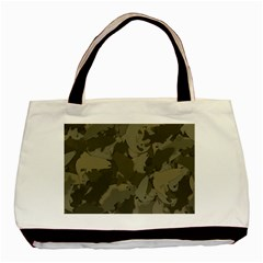 Country Boy Fishing Camouflage Pattern Basic Tote Bag by allthingseveryday