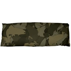 Country Boy Fishing Camouflage Pattern Body Pillow Case (dakimakura) by allthingseveryday