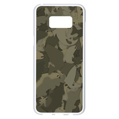 Country Boy Fishing Camouflage Pattern Samsung Galaxy S8 Plus White Seamless Case by allthingseveryday
