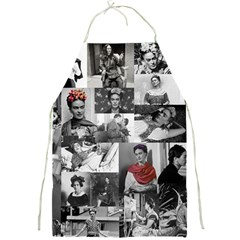 Frida Kahlo Pattern Full Print Aprons by Valentinaart