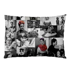 Frida Kahlo Pattern Pillow Case (two Sides) by Valentinaart