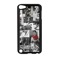 Frida Kahlo Pattern Apple Ipod Touch 5 Case (black) by Valentinaart