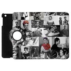 Frida Kahlo Pattern Apple Ipad Mini Flip 360 Case by Valentinaart