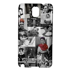 Frida Kahlo Pattern Samsung Galaxy Note 3 N9005 Hardshell Case by Valentinaart