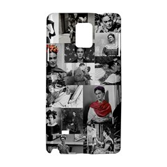 Frida Kahlo Pattern Samsung Galaxy Note 4 Hardshell Case by Valentinaart