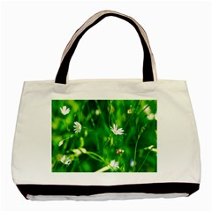 Inside The Grass Basic Tote Bag (two Sides)
