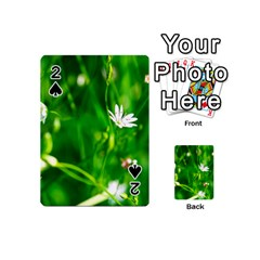Inside The Grass Playing Cards 54 (mini)  by FunnyCow