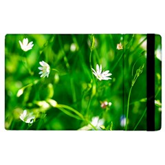 Inside The Grass Apple Ipad 3/4 Flip Case by FunnyCow