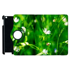 Inside The Grass Apple Ipad 3/4 Flip 360 Case