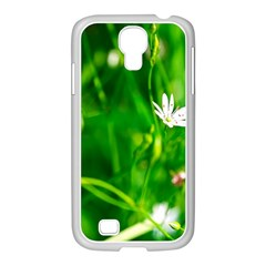 Inside The Grass Samsung Galaxy S4 I9500/ I9505 Case (white) by FunnyCow