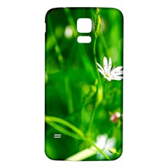 Inside The Grass Samsung Galaxy S5 Back Case (white)