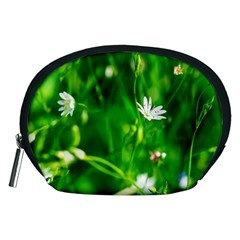 Inside The Grass Accessory Pouches (medium)  by FunnyCow