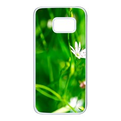 Inside The Grass Samsung Galaxy S7 White Seamless Case