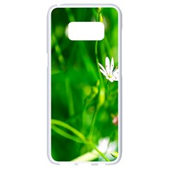 Inside The Grass Samsung Galaxy S8 White Seamless Case by FunnyCow