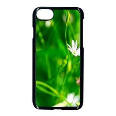 Inside The Grass Apple Iphone 8 Seamless Case (black) by FunnyCow