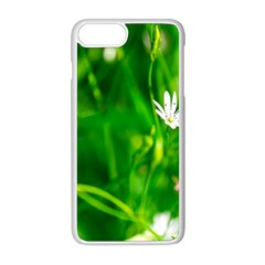 Inside The Grass Apple Iphone 8 Plus Seamless Case (white) by FunnyCow
