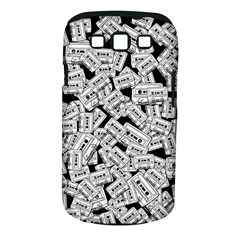 Audio Tape Pattern Samsung Galaxy S Iii Classic Hardshell Case (pc+silicone) by Valentinaart