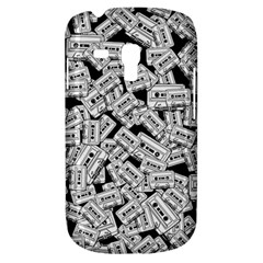 Audio Tape Pattern Samsung Galaxy S3 Mini I8190 Hardshell Case by Valentinaart