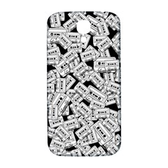Audio Tape Pattern Samsung Galaxy S4 I9500/i9505  Hardshell Back Case by Valentinaart