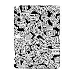 Audio Tape Pattern Samsung Galaxy Note 10 1 (p600) Hardshell Case by Valentinaart