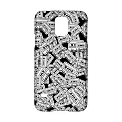 Audio Tape Pattern Samsung Galaxy S5 Hardshell Case  by Valentinaart
