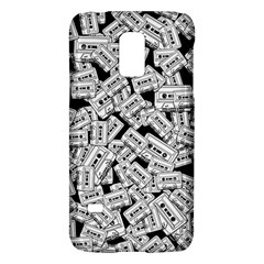 Audio Tape Pattern Samsung Galaxy S5 Mini Hardshell Case  by Valentinaart