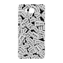 Audio Tape Pattern Samsung Galaxy Alpha Hardshell Back Case by Valentinaart