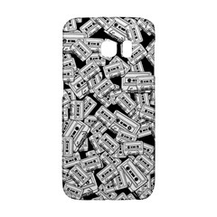 Audio Tape Pattern Samsung Galaxy S6 Edge Hardshell Case by Valentinaart