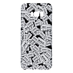 Audio Tape Pattern Samsung Galaxy S8 Plus Hardshell Case  by Valentinaart