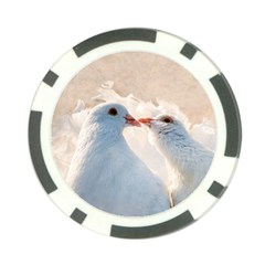 Doves In Love Poker Chip Card Guard (10 Pack) by FunnyCow